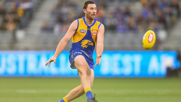 Happy returns: Jeremy McGovern added to the on-field firepower for the Eagles.