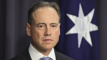 Health Minister Greg Hunt says a record number of people were vaccinated across Australia last week.