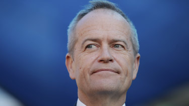 Bill Shorten is equally able to ignore  the storm clouds brewing.