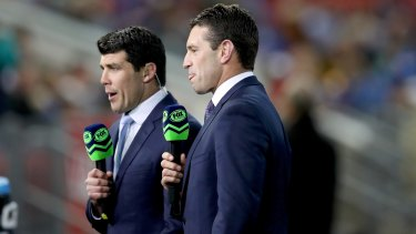 Fox Sports is understood to be interested in securing rights to State of Origin and the NRL grand final.