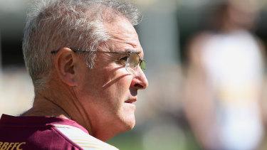 Brisbane Lions coach Chris Fagan.