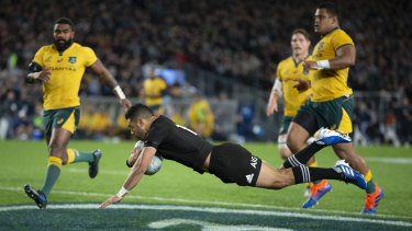It was a procession for the home side, the All Blacks retaining the Bledisloe Cup yet again.