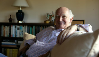 Owen Harries, pictured in 2004.