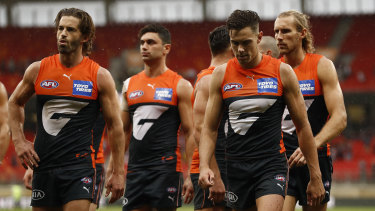 Josh Kelly and the Giants have had a slow start to the year.