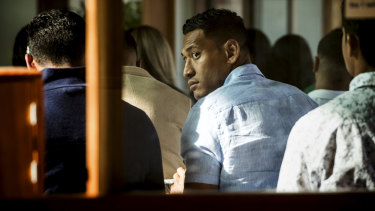Israel Folau will likely front the code-of- conduct hearing when it is convened towards the end of the month.