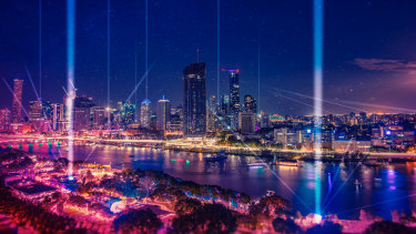 Brisbane's Riverfire will be replaced by a laser light show this year.