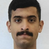 An undated photo provided by the FBI of the shooter, Mohammed al-Shamrani.