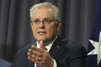 Prime Minister Scott Morrison says state governments want to retain control over lockdowns.