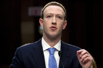 Mark Zuckerberg has come under fire for inaction on regulating content.