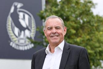 Collingwood president Mark Korda.