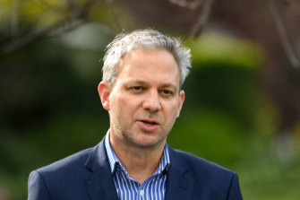 Dr Neil Coventry said he believed the Chief Health Officer Brett Sutton (pictured) had struck the right balance between saving lives and protecting people's mental health.