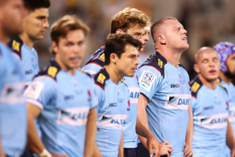Angus Bell (third from right) has been one of the impressive youngsters for NSW.