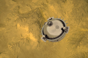DAVINCI+ will drop a probe into Venus' atmosphere.