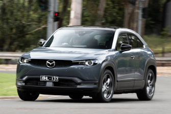 Just 0.7 per cent of new car sales in Australia are electric.