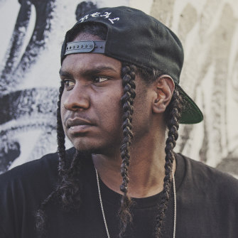 Rapper Baker Boy is one of the First Nations artists on the rise locally and internationally.