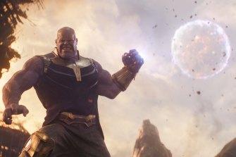Thanos (Josh Brolin) in Avengers: Infinity War.
