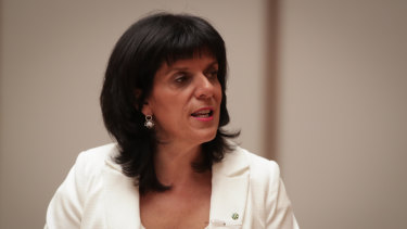 Former Liberal MP Julia Banks quit the party last year to sit on the crossbench as an Independent.