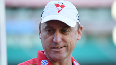 North Melbourne are interested in Sydney coach John Longmire.