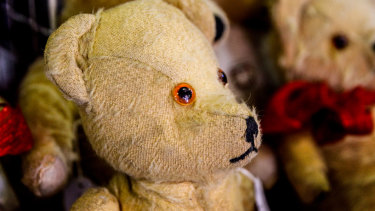 A third of British adults still sleep with their childhood teddy.