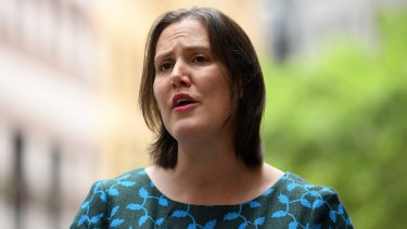 Federal Minister for Jobs and Industrial Relations Kelly O'Dwyer on Thursday.