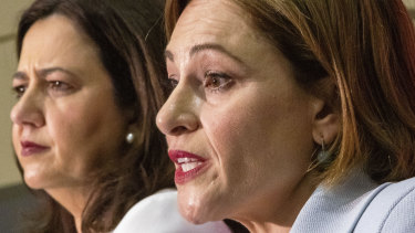 Queensland Premier Annastacia Palaszczuk and Treasurer Jackie Trad handed down the budget on Tuesday.