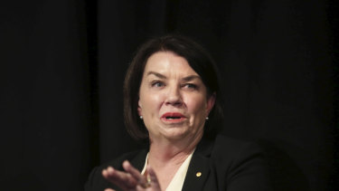 Anna Bligh said 94 per cent of small business loans are approved.