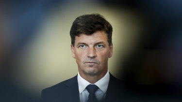 Energy Minister Angus Taylor said he received no benefit from the sale.