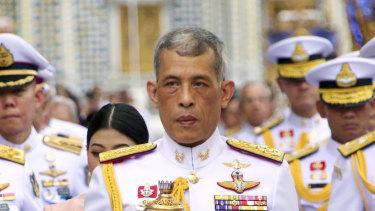 Thai King Maha Vajiralongkorn.