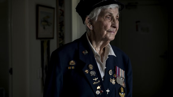 Battler who has helped put women on the front line of Anzac Day march