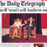 The story behind the Ghislaine Maxwell throne photo in Buckingham Palace