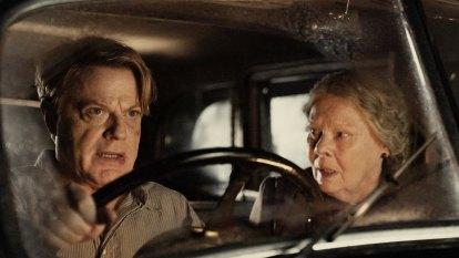 Judi Dench and Eddie Izzard team up in curious WWII spy thriller
