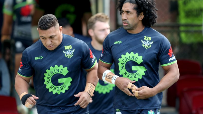 Raiders stars protest as NRL considers banning players – Sydney Morning Herald