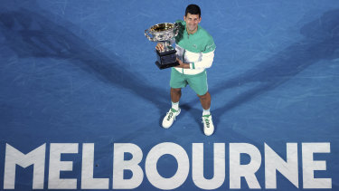 Australian Open champion Novak Djokovic has not revealed his vaccination status, saying it's a private decision.