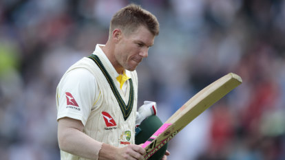 'Some of us thrive on it': Warner embracing the English boo boys