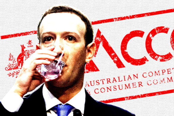 The ACCC inquiry has recommended a crackdown on tech giants Google and Facebook.