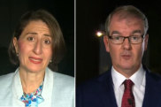The Premier and opposition leader went head-to-head on breakfast television.