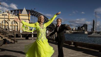 Sydney's strictly social distancing ballroom dancing scene