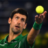 Djokovic steps out on Madrid tennis court