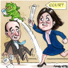 Victorian Senator Sarah Henderson and NSW MP Dave Sharma
