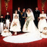 Not many childhood fashion moments can top being bridesmaid for Princess Di