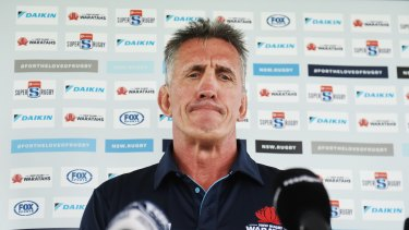 Rob Penney has been living apart from his family in New Zealand.