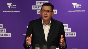 Premier Daniel Andrews has announced a widespread easing of restrictions.