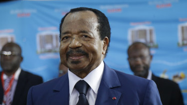 Secessionists have imposed curfews in their protest against the French-speaking government of Paul Biya (above).