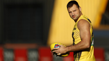 Toby Nankervis is set to return for the Tigers.