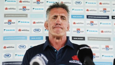 Penney address the media on Friday in Sydney.