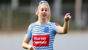 NSW captain Kezie Apps.