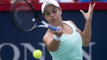 Moving on: Ashleigh Barty.