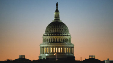 The US Capitol where Democrats couldn't override veto.