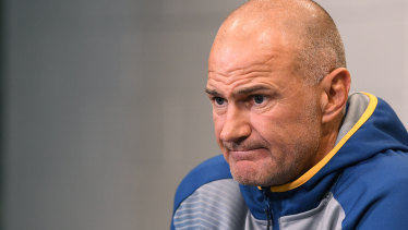 Parramatta Eels coach Brad Arthur is one of several NRL head coaches to have been stood down by their clubs.