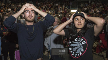 Toronto fans react to missing out being present for a history-making NBA Championship win.